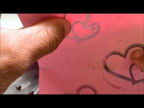 Tip Scrap #1 : sustituir la tinta de embossing - YouTube