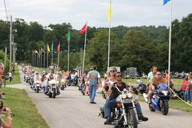 Gettysburg Bike Week Parade 2013.