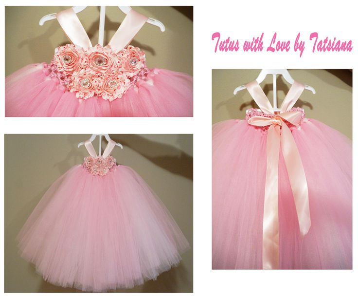 Amazing princess dress. Lots of tulle and beautiful flowers with the bling. This dress is a  dream of every little princess!
