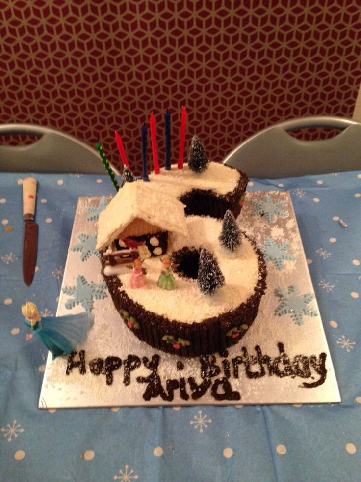Ariya's 6th Birthday Cake
