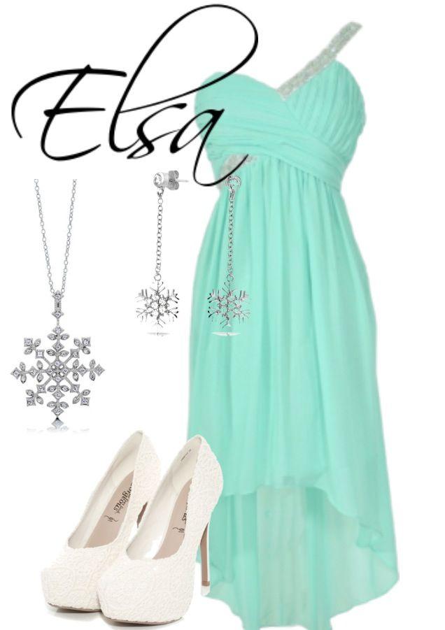 DisneyBound- Elsa (By Me)