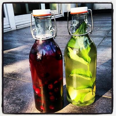 Polskie South Beach: Drinki - owocowy i mojito