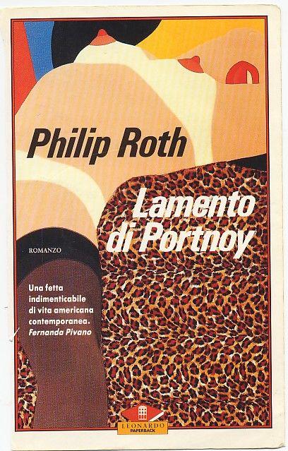 philip roth, lamento di portnoy