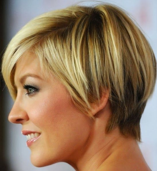 jenna elfman short hair back view