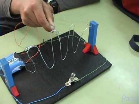 Proyecto escolar realizado por alumnos de 2º de la Eso, aplicación de circuitos eléctricos, sencillo y motivador para los alumnos que estan siempre dispuesto...