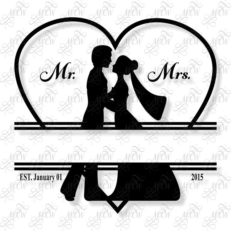 Bride And Groom Only Wedding Ideas: Bride, Groom Silhouette, Wedding