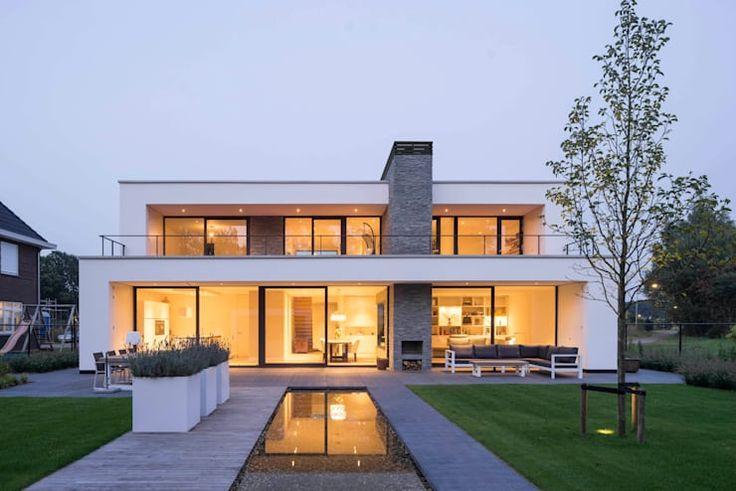 Twee moderne huizen waar je mond van open valt