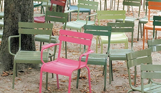These Chairs Were Originally Designed For The Parc Jardin