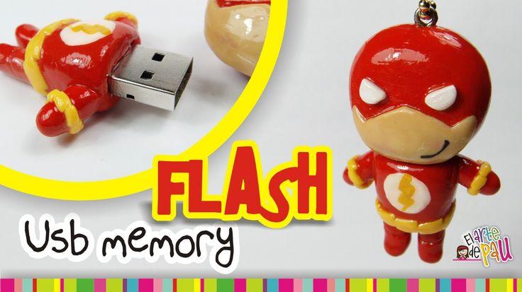 FLASH USB polymer clay tutorial  / Flash USB de Arcilla polimérica