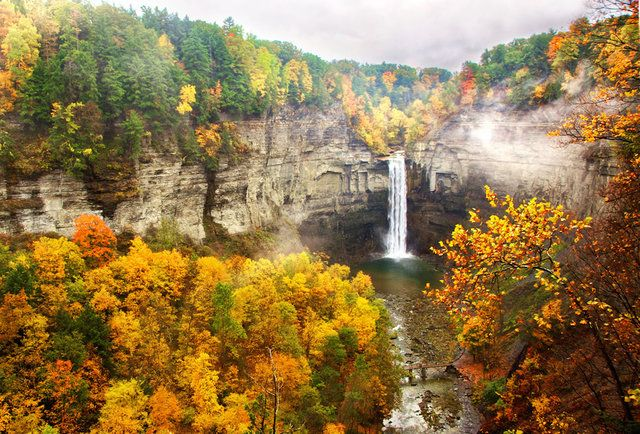 Every New York Waterfall You Need to See in Person--ok, NOT NYC, but these are lovely and I don't have an upstate board to pin to!