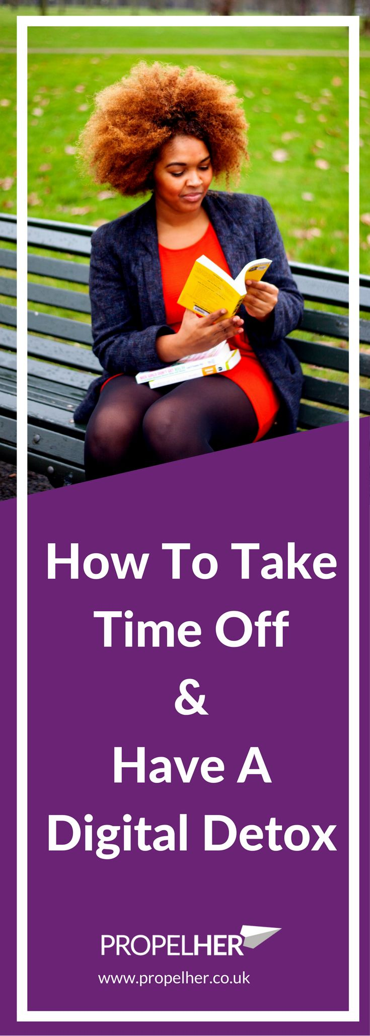 Taking time off work is key for your health, happiness and success. This post will help you commit to taking time off, help you maximise that time off and even suggest you take a digital detox. Digital Detox // Holiday // Time Off Work // Take Time Off Work // Annual Leave // Female Entrepreneurs // Career Woman // GirlBoss