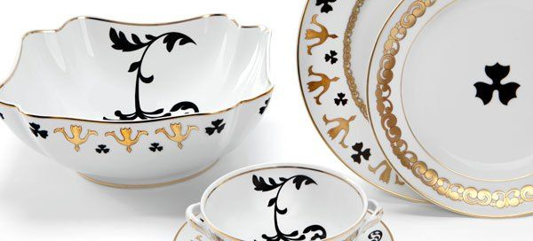 Vista Alegre Collection Founded in 1824, the Vista Alegre Porcelain Factory was the first industrial unit dedicated to producing porcelain in Portugal.   #portugal #madeinportugal
