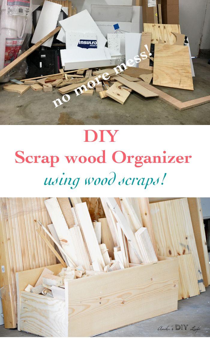 Easy DIY Scrap Wood Organization 128 best