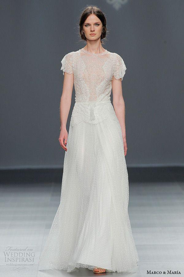 alvina valenta fall 2015 wedding dresses illusion lace long sleeves v neckline double keyhole back silm a line wedding dress av9558 back view close up