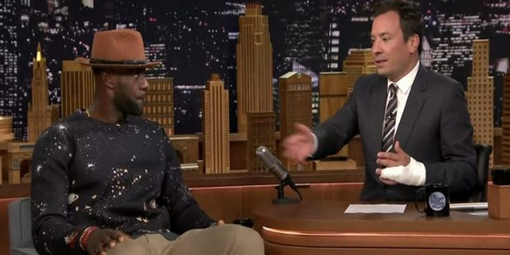 Lebron James on Jimmy Fallon Show [Interview]- http://getmybuzzup.com/wp-content/uploads/2015/07/lebron-james-650x325.jpg- http://getmybuzzup.com/lebron-james-on-jimmy-fallon/- NBA superstar Lebron James stopped by the Jimmy Fallon show.Enjoy this videostream below after the jump.  Follow me:Getmybuzzup on Twitter Getmybuzzup on Facebook Getmybuzzup on Google+ Getmybuzzup on Tumblr Getmybuzzup on Linkedin Getmybuzzup on Pinterest Let us know what you