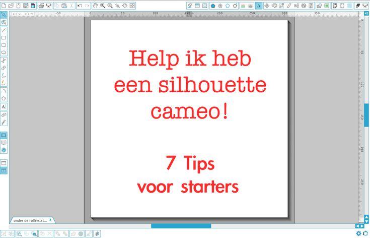 Starten met de Silhouette Cameo, 7 tips voor beginners. CreatiefDuo | Een plaats voor creatieve projecten, ideeën, tips en downloads