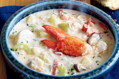 Chock-full of seafood, fish and vegetables, this Nova Scotia seafood chowder is inspired by a chowder served at the Masstown Market, near Truro, N.S.