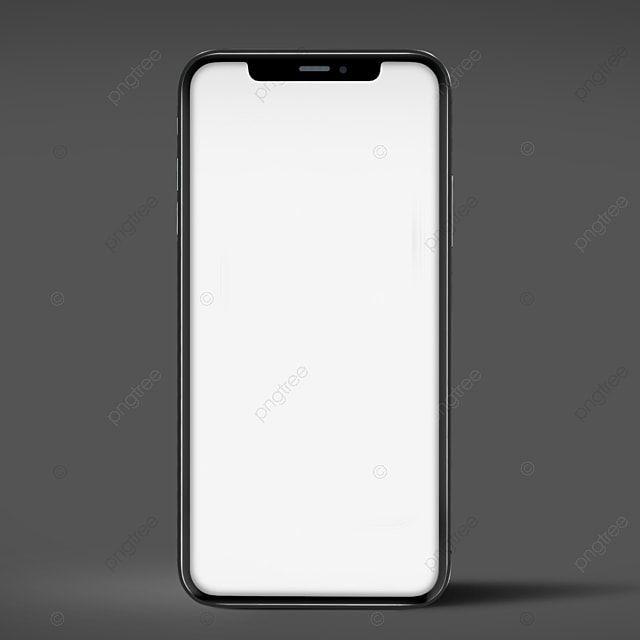 Iphone website mockup