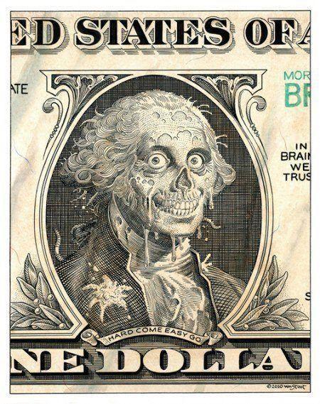 Zombie money