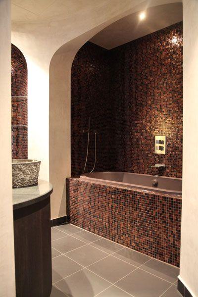 Salle de bain orientale en mosaïque marocain