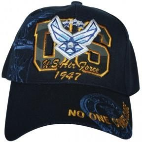 Air Force- U.S. Air Force 1947 Embroidered Military Ball Caps
