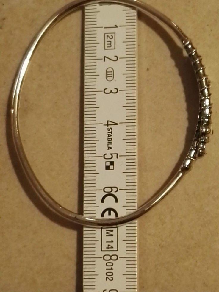 """Armring til håndled eller underarm..  """"Midgårdsorm med snoning -  lille"""" Kan justeres i diameter så det passer dig...  Sølv.  470 kr."""