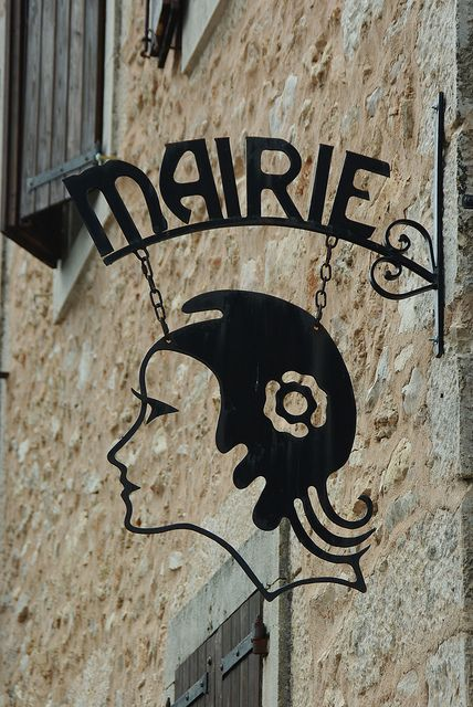 Very cool! cutout sign | La Couvertoirade #Aveyron #France