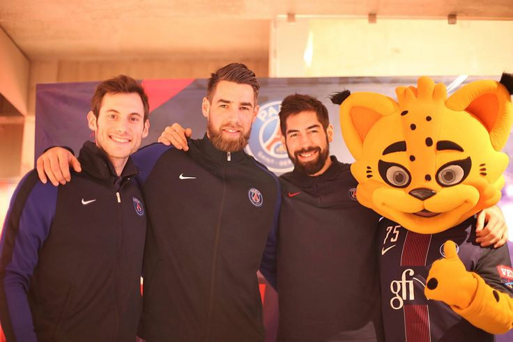 Nice moments shared with our Handball players last Saturday at the Megastore PSG