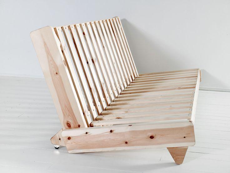 Las 25 mejores ideas sobre cama fut n en pinterest y m s for Sofa cama de madera