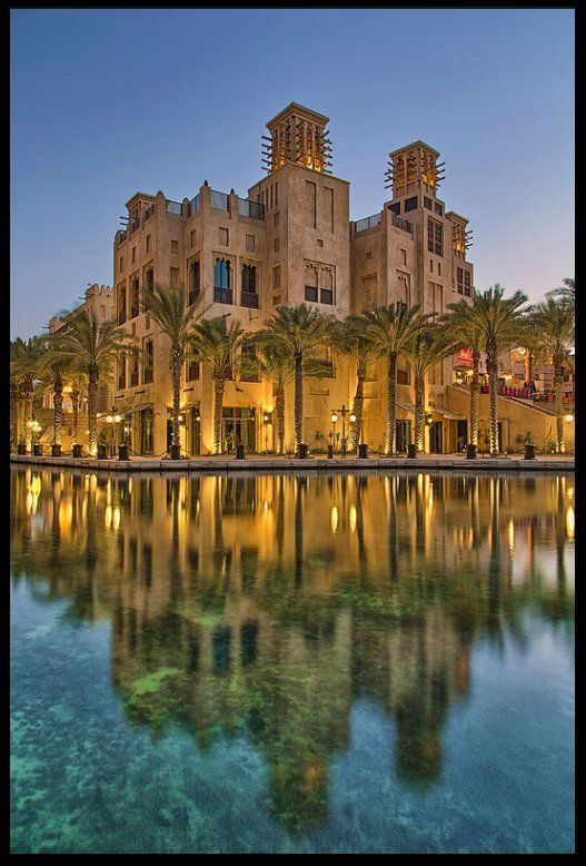 Dubai the place where the past and the future live together i love it. Dar Al Masyaf, Madinat Jumeirah designed by Creative Kingdom Inc.