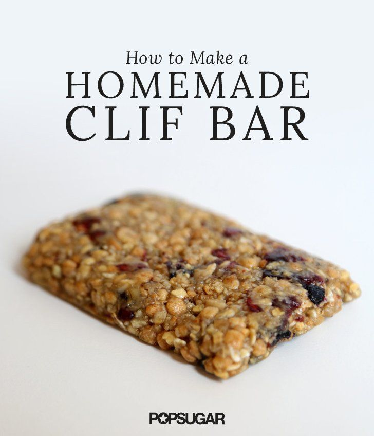 Clif bars for breakfast
