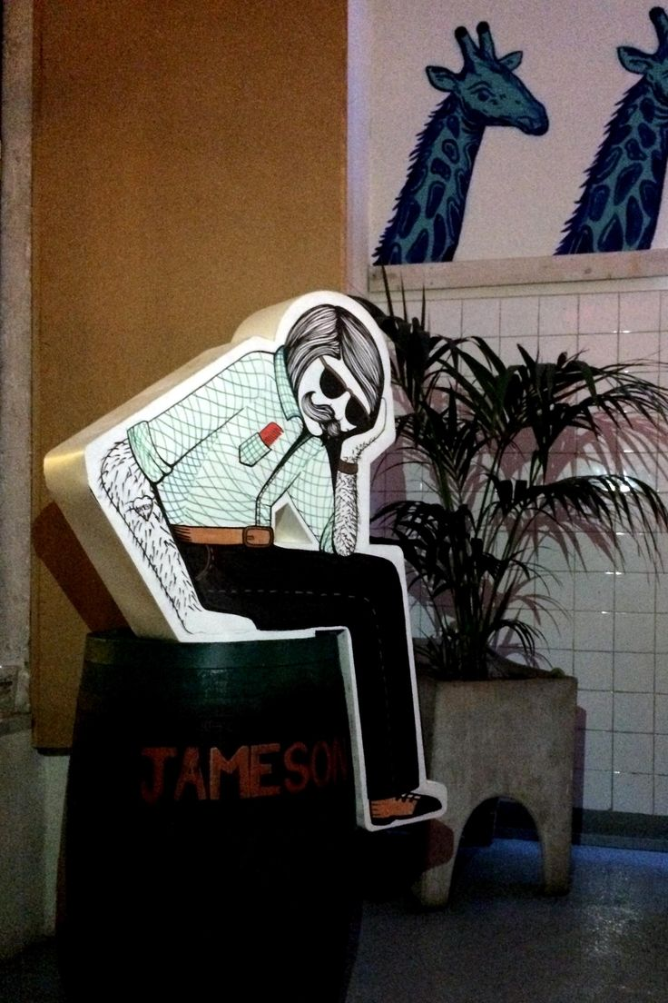"""Cajó"" for Jameson Portugal at Damas Bar"