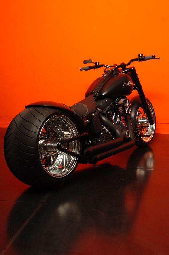 Softail Harley Night Train Designed by Vida Loca Choppers in 2011