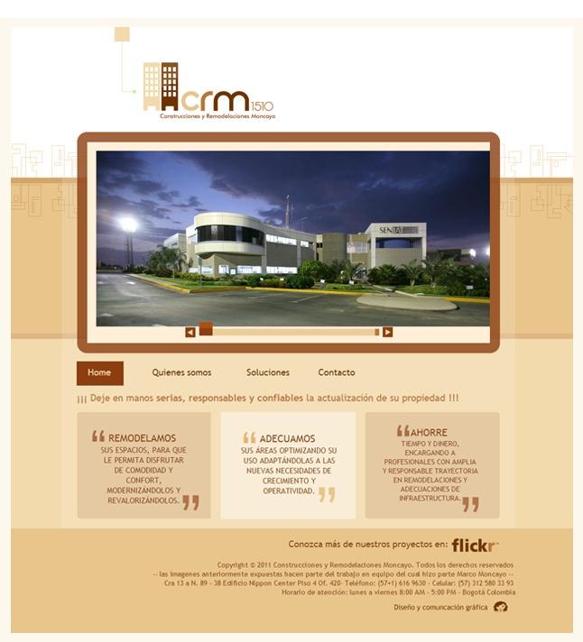 Diseño Wen CRM1510 http://www.yuddyhernandez.com/portafolio/html/crm1510.html