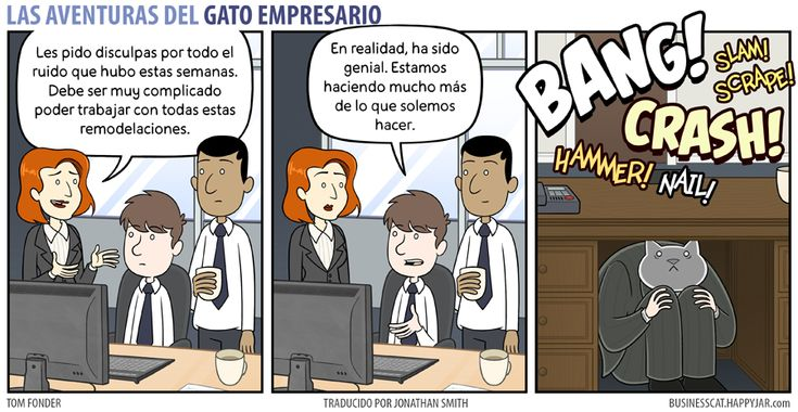 Business Cat - Remodelación