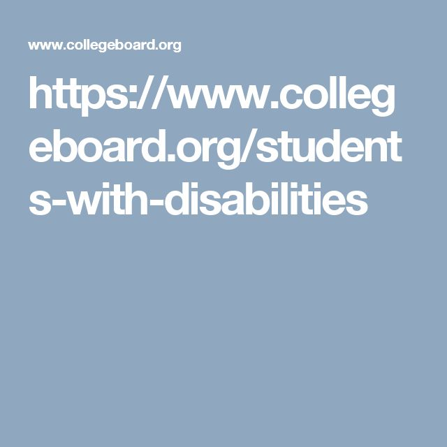 This is where you go to find out about what accommodations the college has to provide for students with disabilities.
