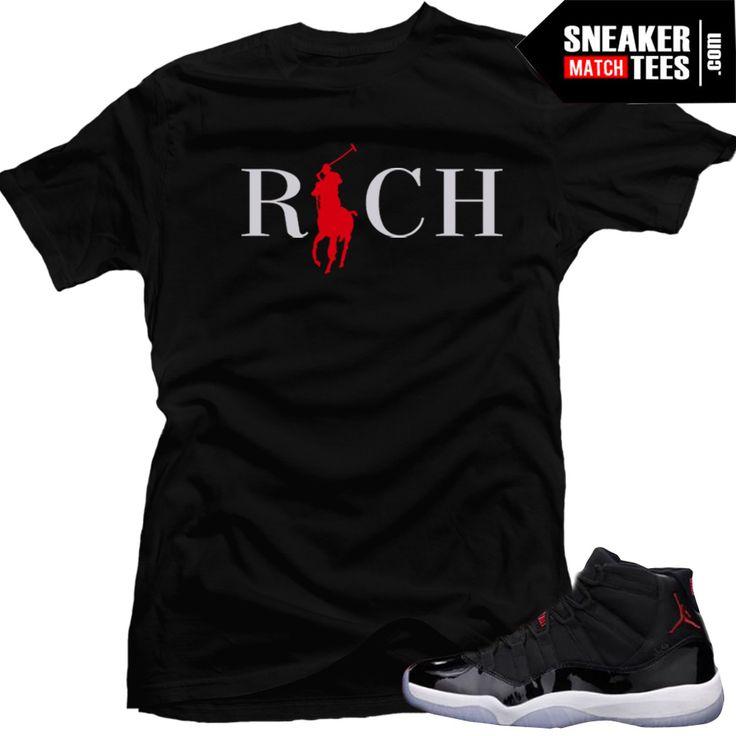 72-10 Jordan 11 match sneaker tees. Sneaker tees shirts match Jordan 11 72-10. Jordan Retro 11 72-10 sneakers match tees. Shirts to match Jordans.