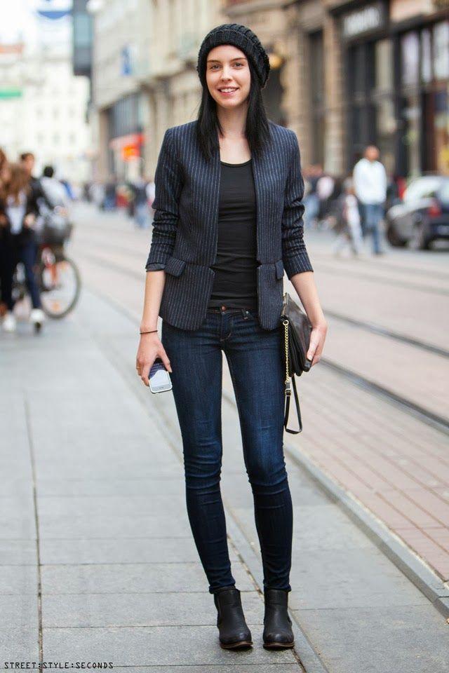 Zagreb street style women's urban fashion