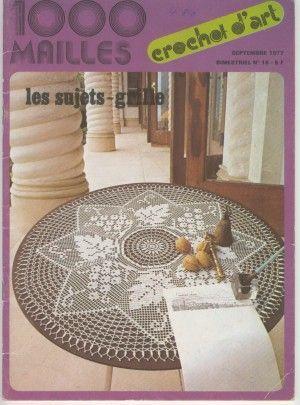 1000 Mailles №16 1977 Septembre . Обсуждение на LiveInternet - Российский Сервис Онлайн-Дневников