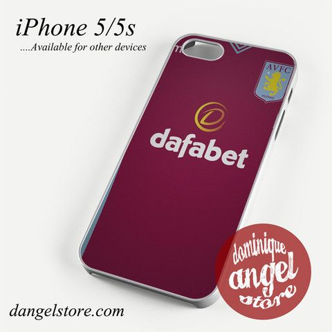 aston villa jersey Phone case for iPhone 4/4s/5/5c/5s/6/6s/6 plus