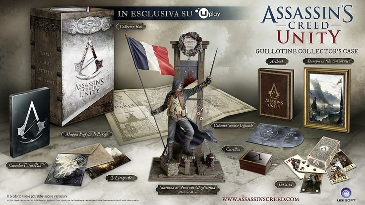 unboxing assassin s creed unity guillotine edition