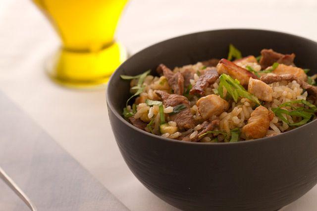 Una receta simple y sabrosa de preparar Arroz Banquete es este Salteado de Arroz con carne y vegetales http://www.vidabanquete.cl/blog/detalle/salteado-de-arroz-con-carne-y-vegetales-verdes