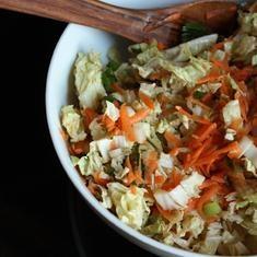 Napa Cabbage SlawNapa Cabbagy, Food Stuff, Food E Lici, Napa Cabbages, Asian Inspiration Napa, Cabbages Slaw, Cabbagy Slaw, Slaw Asian Napa, Napa Slaw
