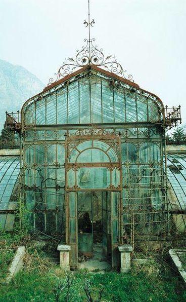 English greenhouse.