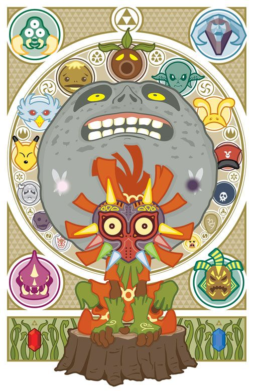 The Legend Of Zelda Majora S Mask Videogames