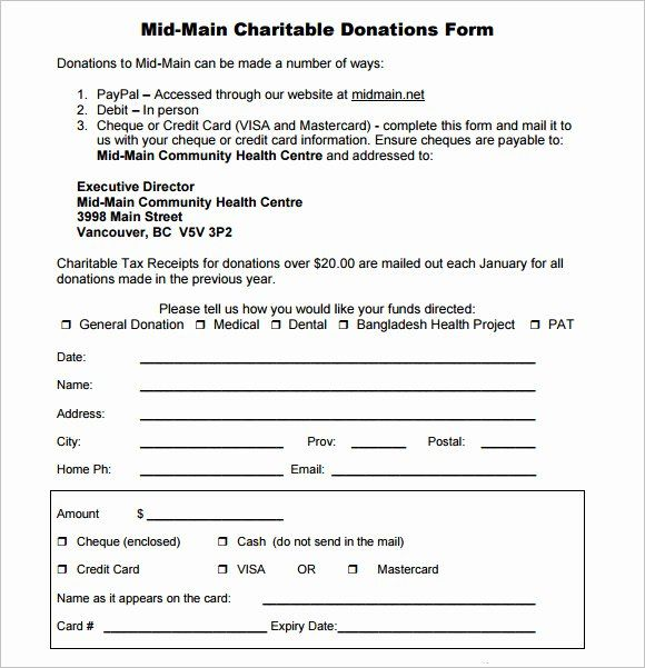Donation Form Template Free Best Of Free 10 Sample Donation Sheets In Google Docs Donation Request Form Donation Request Donation Form