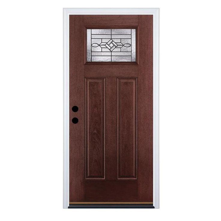 Therma tru benchmark doors craftsman insulating core 1 for Exterior door insulation