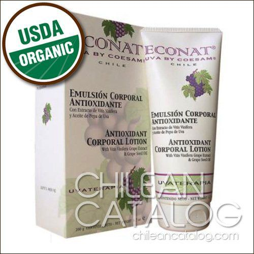 Antioxidant Corporal Lotion with Vitis Vinifera Grape Extract & Grape Seed Oil - http://essential-organic.com/antioxidant-corporal-lotion-with-vitis-vinifera-grape-extract-grape-seed-oil/