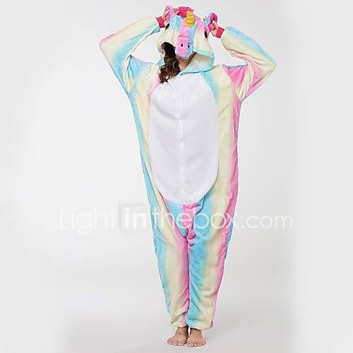 Kigurumi Pijamas Cavalo Voador Festival/Celebração Pijamas Animais Dia das Bruxas Fashion Bordado Flanela Fantasias de Cosplay Kigurumi de 6178023 2017 por R$89,22