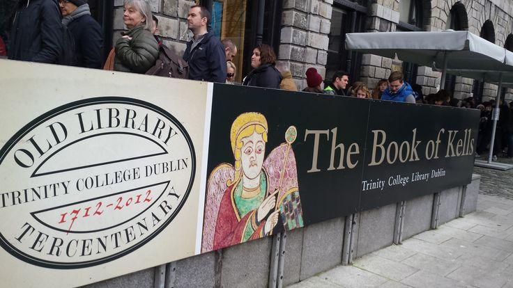 questa sì che è storia... #bookofkells #trinitycollege #dublin